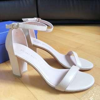 全新 Stuart Weitzman Nearlynude Sandal 高跟鞋 高踭鞋 高跟涼鞋 高踭涼鞋 Heels Sandal Heels