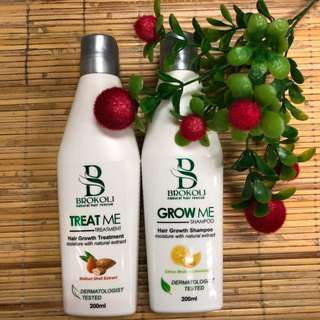 BROKOLI Shampoo & Treatment Set - 200ml