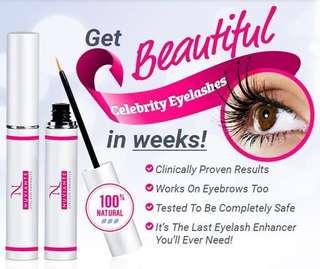 famous nuviante eyelash enhancer serum