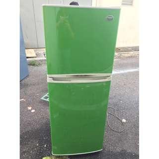 Green Fridge Recond Samsung Peti Ais 2Door