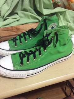 Converse Chuck Taylor Green Shoes