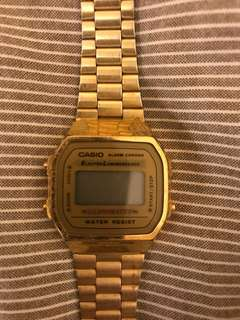 Casio watch電子錶