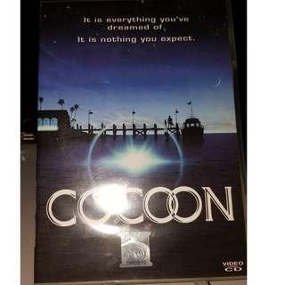 VCD- COCOON (1985) aliens ufo sci-fi comedy drama