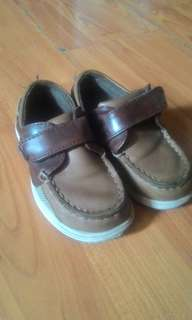 Brown Shoes for Little Boys