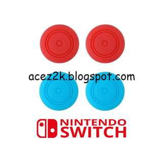[BN] Nintendo Switch Joy-Con Analog Sticks Silicone Caps (Brand New)