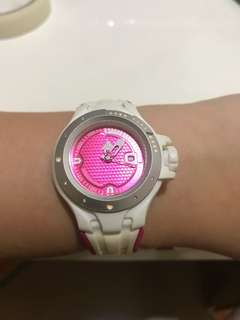 Adidas Watch Original Pink Rubber