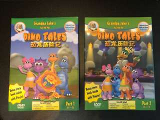 Learn Moral Values - Dino Tales DVDs