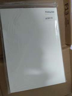 🚚 Dye Sublimation Paper. A4. 80pcs