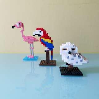 🆕🉑代砌模型/拼圖服務(3D)-Nano Block- Micro-Sized Building Block/Lego