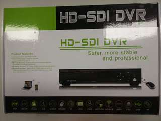 Security digital video recorder