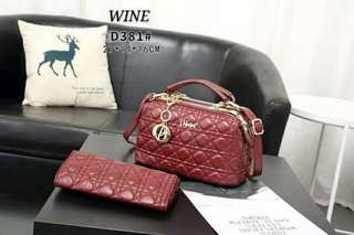 lady dior 2 in 1 gred aaa