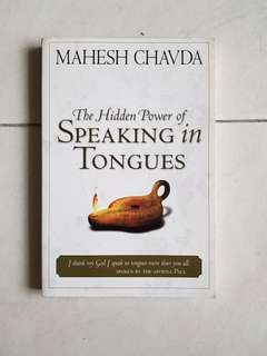 Christian book Mahesh Chavda Speaking in Tongues