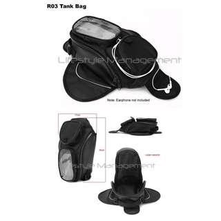 Motorcycle/Bike Magnet Fuel Tank Helmet Sling Bag/Case Magnetic Mount GPS/Handphone/Phones/Mobile Water Resistant Motorcycles/Bikes Tank Bag
