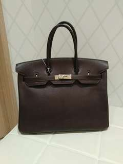 Hermes birkin 35 in brown
