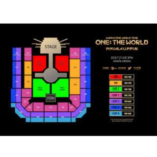 WTS WANNA ONE WORLD TOUR IN MY