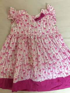 Pumpkin patch dress 6-12 months