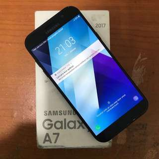 Samsung A7 2017 black sein bisa tukartambah
