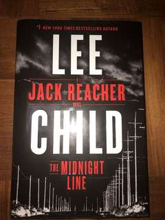 Mystery Novel Jack Reacher : The Midnight Line