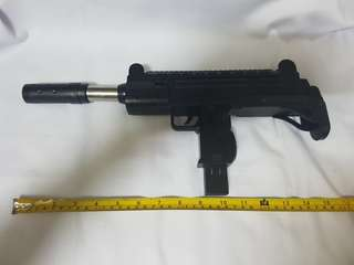 Toy gun replica UZI for cosplay