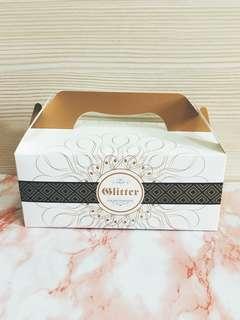 🚚 黑爵 6k 精緻蛋糕盒 手提餐盒 禮盒 點心盒 送禮 手工適用