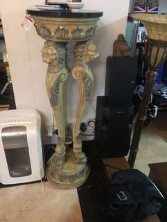 Ornate table stand / for plant or anything