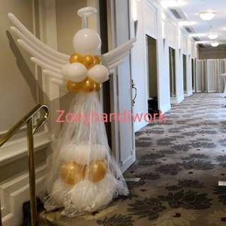 Angel balloon column 😇😇
