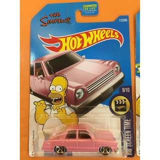 Hot Wheels The Simpsons Seires