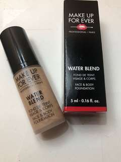 Waterblend makeup for ever 5ml