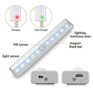 🚚 Motion sensor light rechargable night light