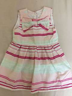 Pumpkin patch dress 12-18 Months