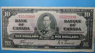 加拿大10元