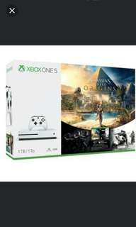 Xbox One S 1TB Assassin Creed Origins Bundle with Rainbow Six Siege