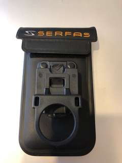 Serfas Waterproof phone case with bike mount
