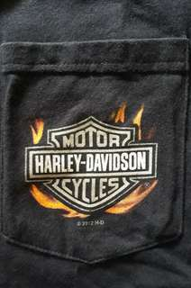 T Shirt/ kaos Harley Davidson Long Sleeve ori made in USA