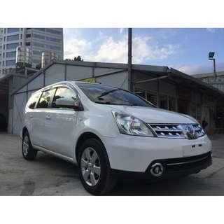 <小馬愛車>  2012 Nissan Livina 1.8 白