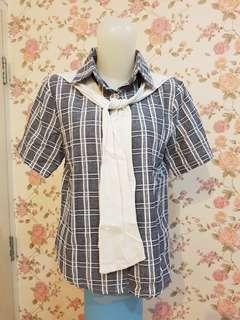 Plaid Sailor Shirt
