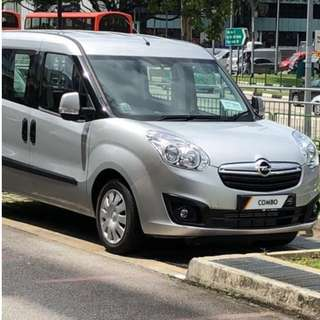 brand new Opel combo for rent (Auto Diesel)