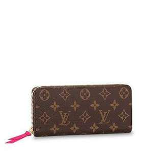Anyone selling a LV clemence wallet in monogram??