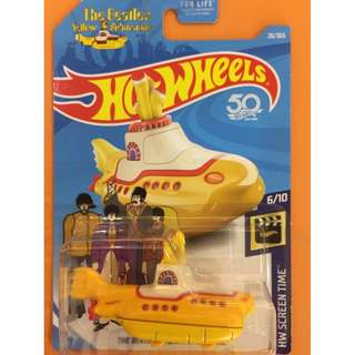 Hot Wheels The Beatles Series