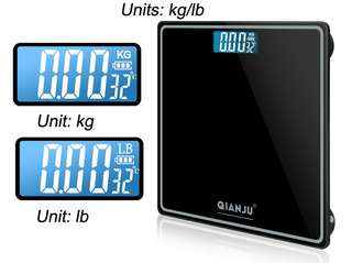 🚚 Recharge rechargable Digital Weighing Scale led bathroom