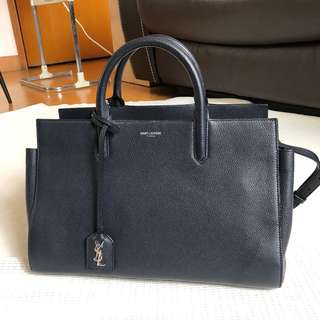 YSL SAINT LAURENT Cabas Rive Gauche Bag Handbag 袋 手袋