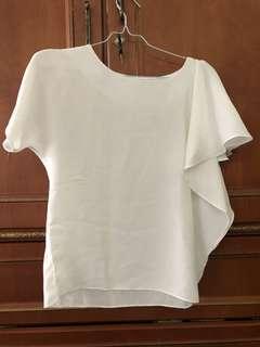 Baju sifon putih