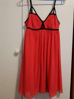 Dotti red formal/party dress