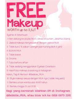 FREE Makeup/Makeover