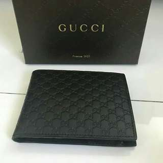 Bnew Gucci Guccissima wallet