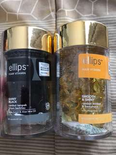 Hair Vitamin Ellips Shiny Black and Smooth&Shiny hanya 90 ribu