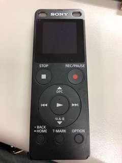 Sony ICD-UX560F 數位錄音筆4G