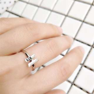 Kpop Shiny Adjustable Fashion / Wedding Finger Ring