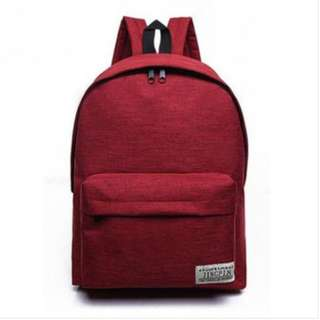 Canvass Backpack 3 available colors