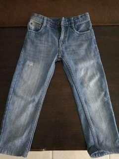 Ripped jeans batman ori size 5-6thn